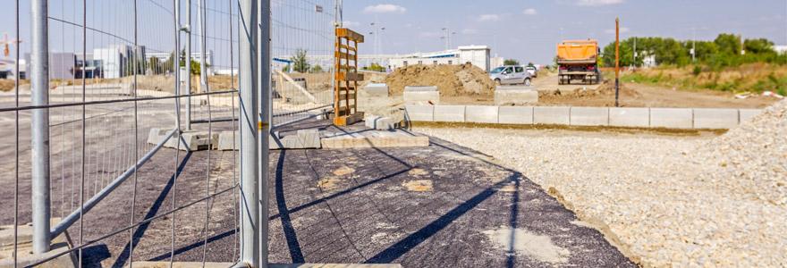 Location de matériel de sécurité pour chantiers