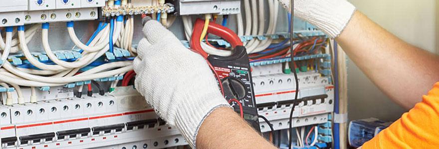 Travaux de rénovation d'électricité